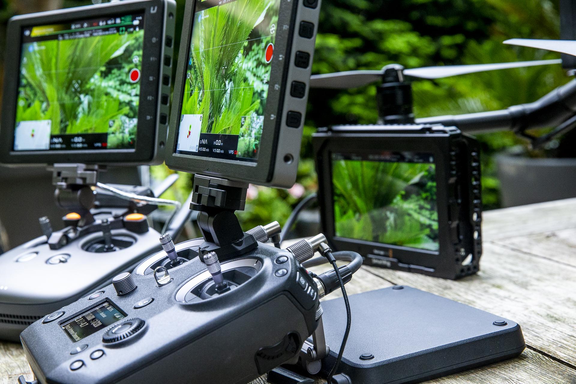 Captation par drone en direct HD1080i