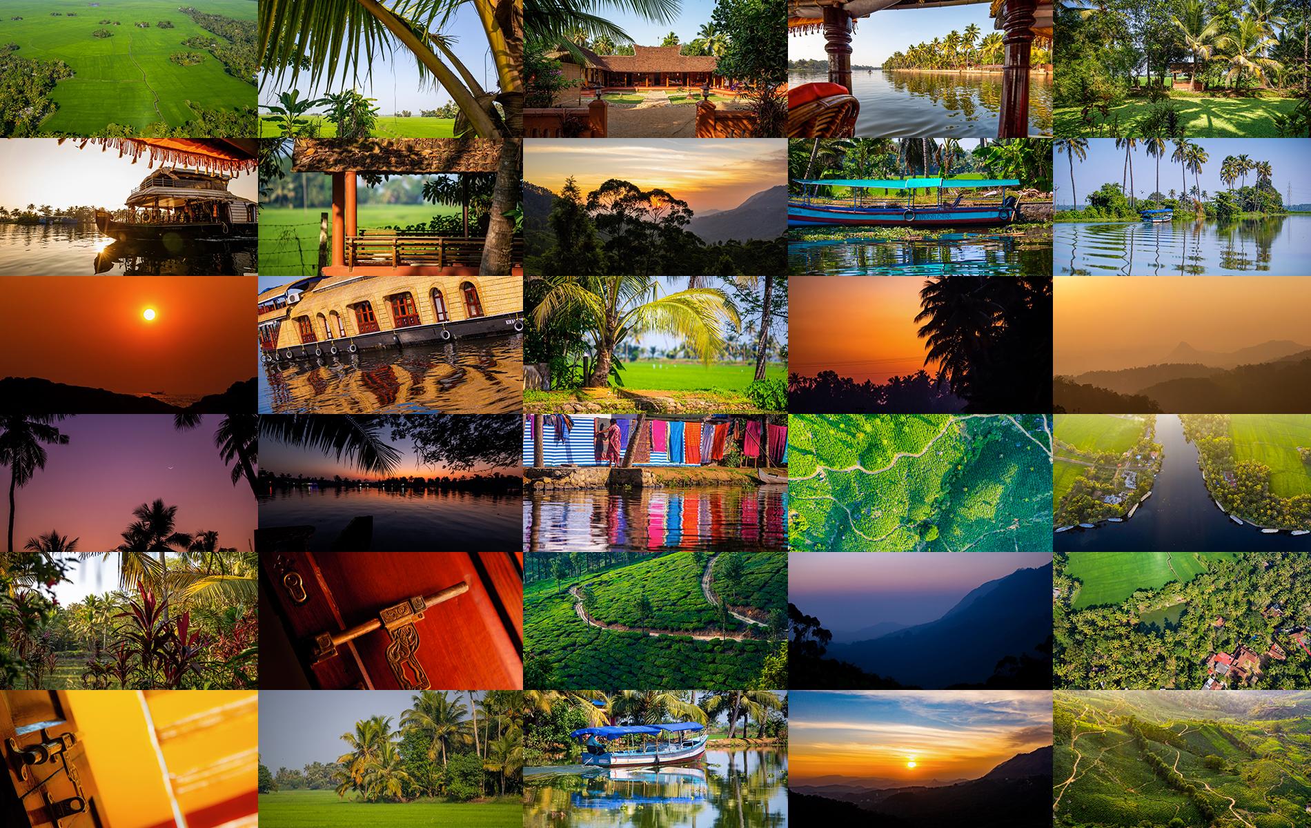 Reportage photos Kerala Inde