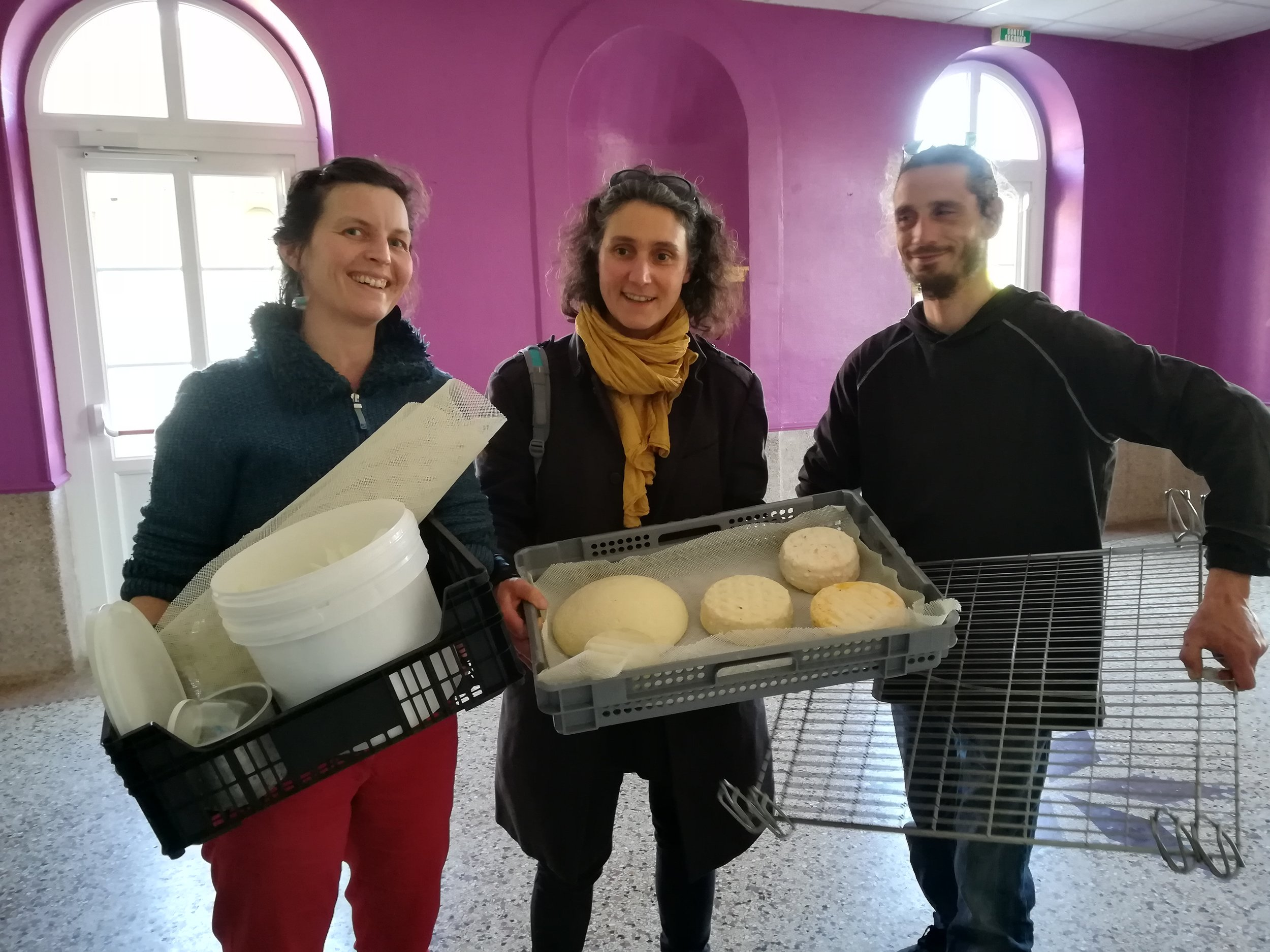 Les créations de Caroline Beaujour et Xavier Godmet - La boite à fromage - Credit photo Martine Loublier