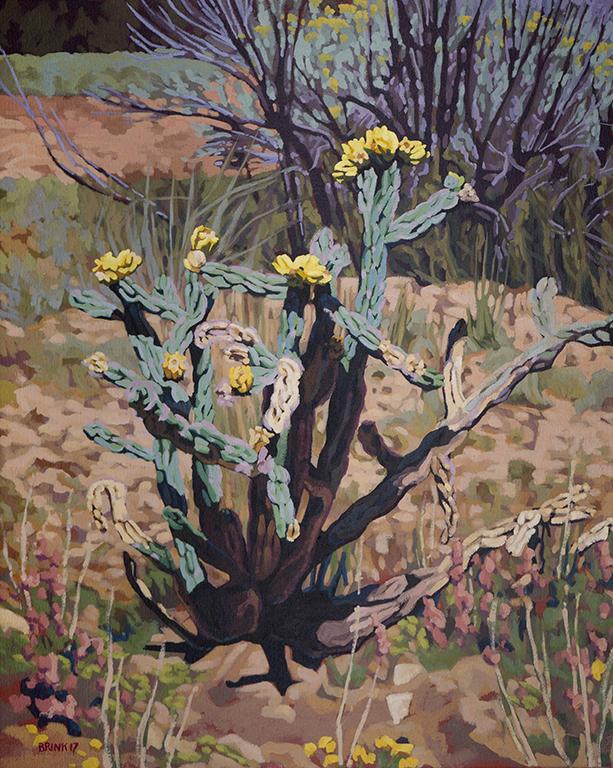 Arroyo Still Life 3, 20 x 16 in, oil on canvas, 2017