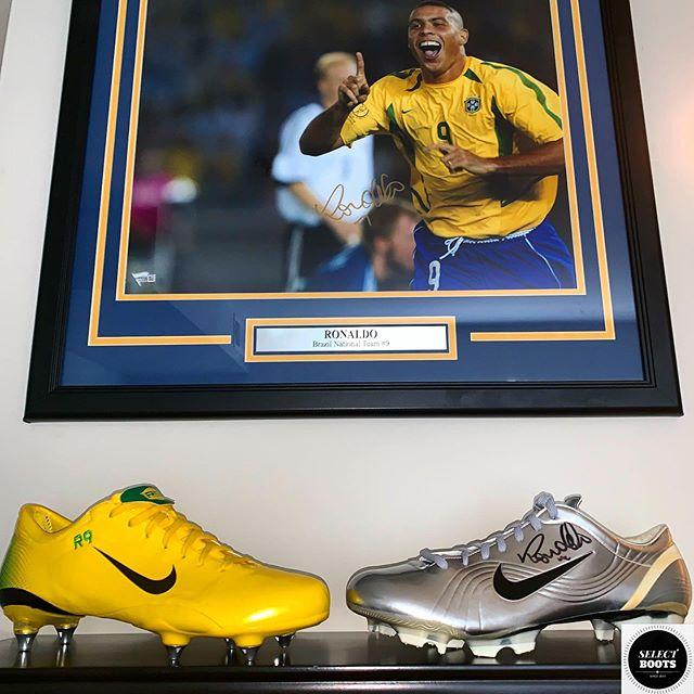 ❤️❤️❤️ The Ronaldo Shrine🇧🇷🥰😲 👏👏👏 @ronaldo ➖➖➖ 👉Follow Me @SELECT_BOOTS👈 ✅Contact For Rare Boot Enquiries✅ 🔴Explore The Collection At SELECTBOOTS.ORG🔴 ➖➖➖ #ronaldo #r9 #brasil #brazil #realmadrid #fifaworldcup #nike #nikesoccer #nikefootball #matchworn #signed #mercurial #rare #soccer #football #futbol @nikefootball @realmadrid @cbf_futebol #jogabonito #bootroom #cleatstagram #pdsbootroom #soccerboots #boots #cleat @brfootball #brfootball #bleacherreport #thebeautifulgame #football #soccerskills #yellow #samba #swoosh @espn @espnfc @socceram @foxsoccer @footballjoe @sportbible