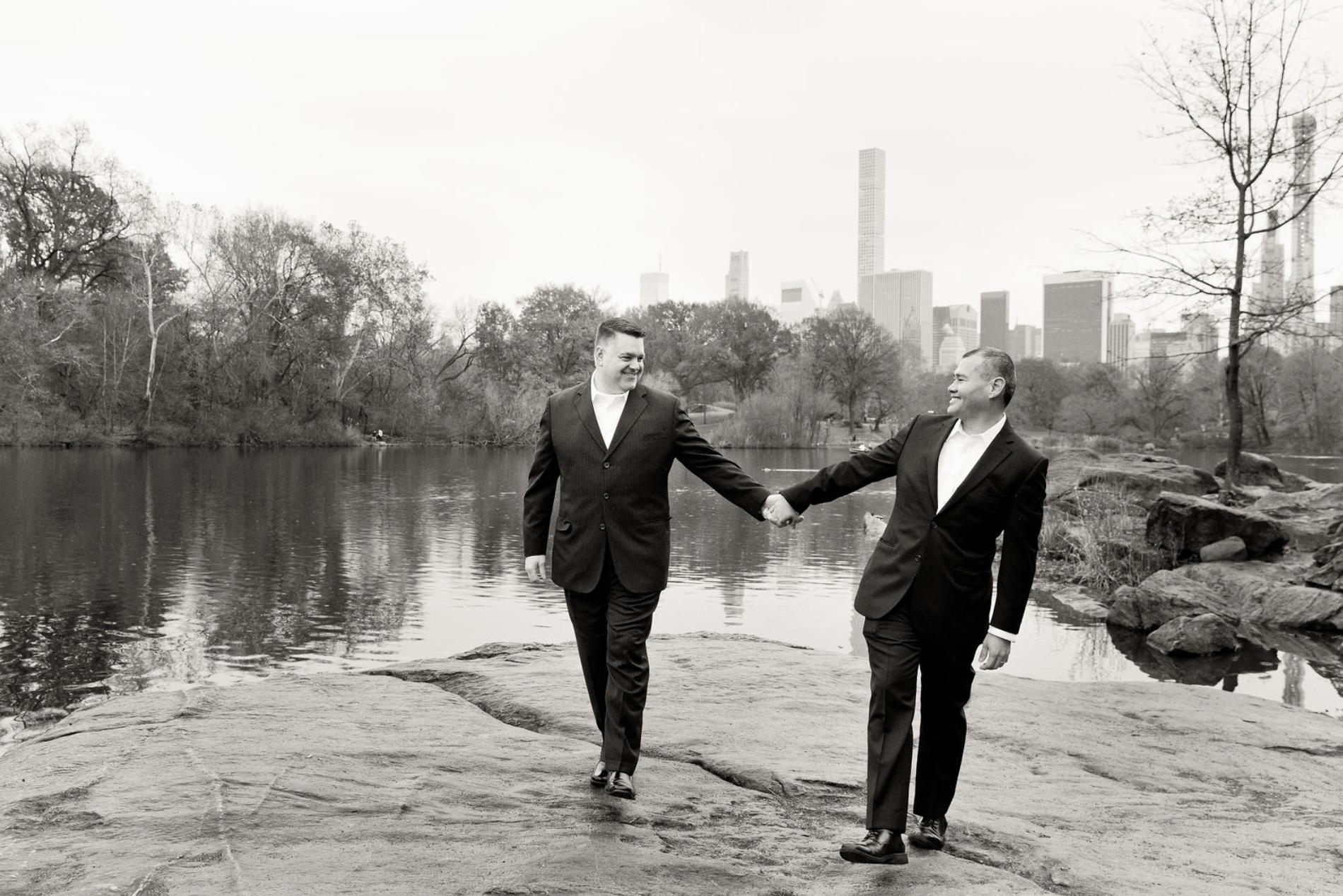 Congratulations, Wayne and Phil!  Professional photos by  Konrad Brattke .