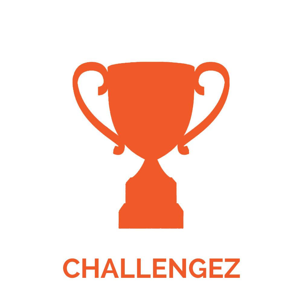 Vos managers lancent des défis à leurs équipes en quelques clics pour animer les priorités du quotidien.