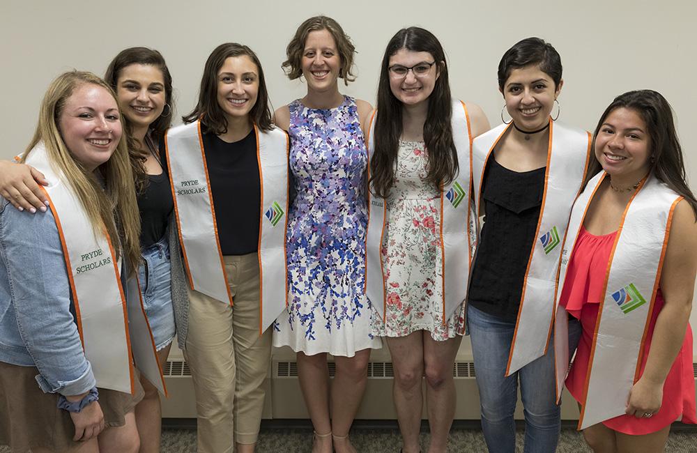 2018 PRYDE Scholar graduates