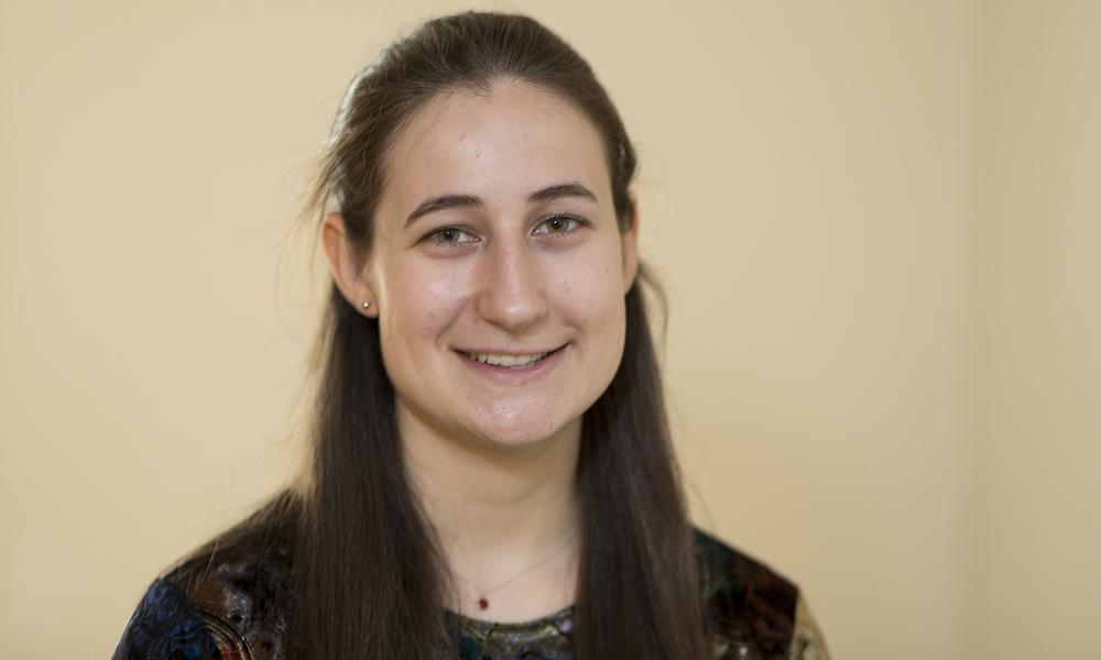 Julia Bujno, PRYDE Scholar