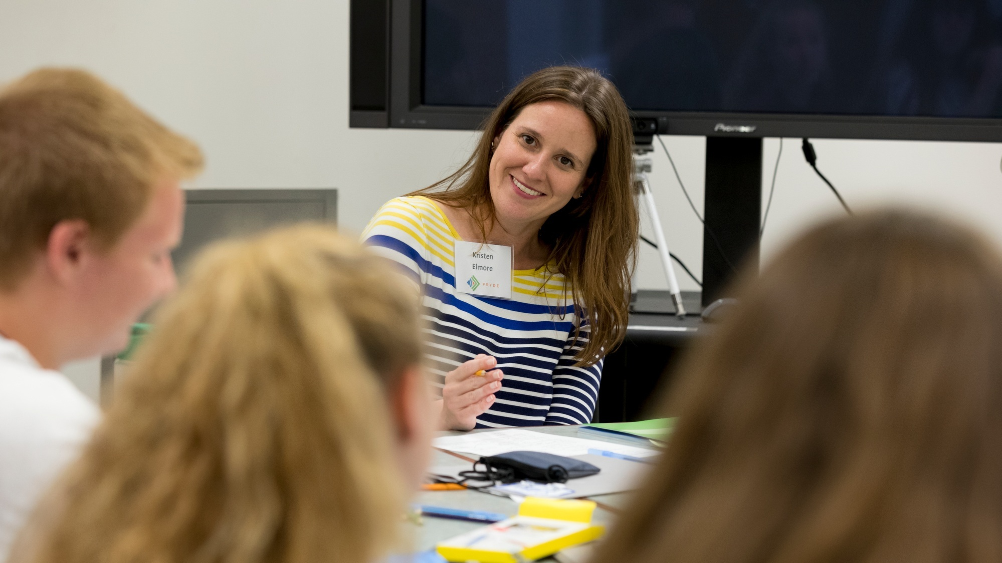 Kristen Elmore, PRYDE's new assistant director