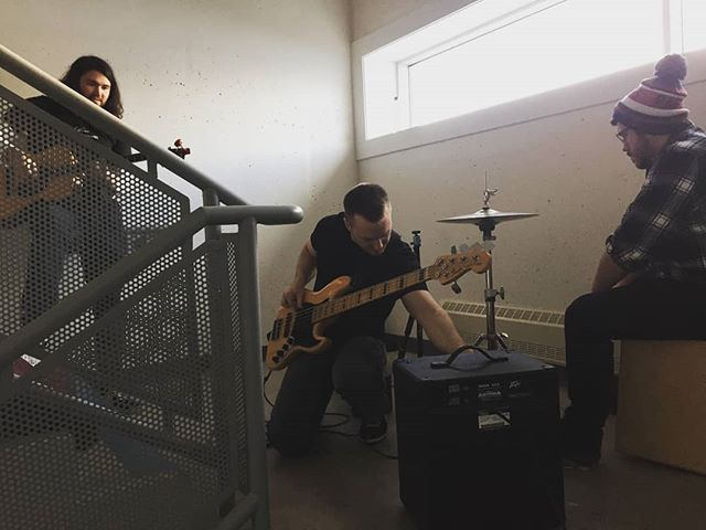 #TBT to when we recorded our Smooth Stairwell Sessions 😵