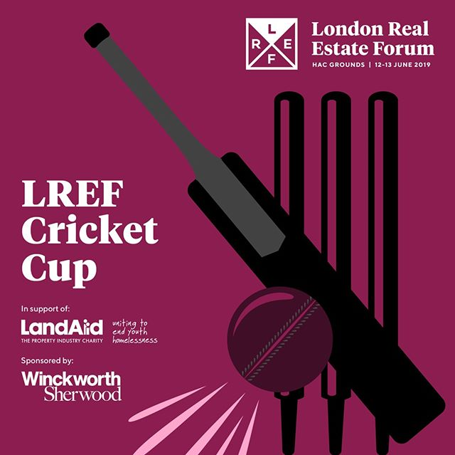 We are proud to announce the inaugural LREF Cricket Cup in support of @landaidcharity, bringing the property industry together to work towards ending youth homelessness. Entries are now open for players -  see how you can join our charity cricket match here: https://www.lref.co.uk/cricketcup . . . . . #london #property #development #infrastructure #investment #realestate #architecture #engineering #designinspo #urbandesign #londonist #londoner #instacity #design #instalondon #architects #archdaily #archilovers #architecturelovers #architecturegram #architecturedesign #architettura #instarchitecture