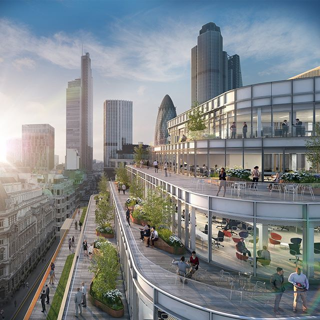 Check out #EPRArchitects design for #60LondonWall which will see a complete rework of a postmodern office building at the heart of the #CityofLondon . . . . #workplace #primeretail #skygardens #futureoflondonexpo #london #property #development #infrastructure #investment #realestate #architecture #engineering #designinspo #urbandesign #londonist #londoner #instacity #design #instalondon #architects #archdaily #archilovers #architecturelovers #architecturegram