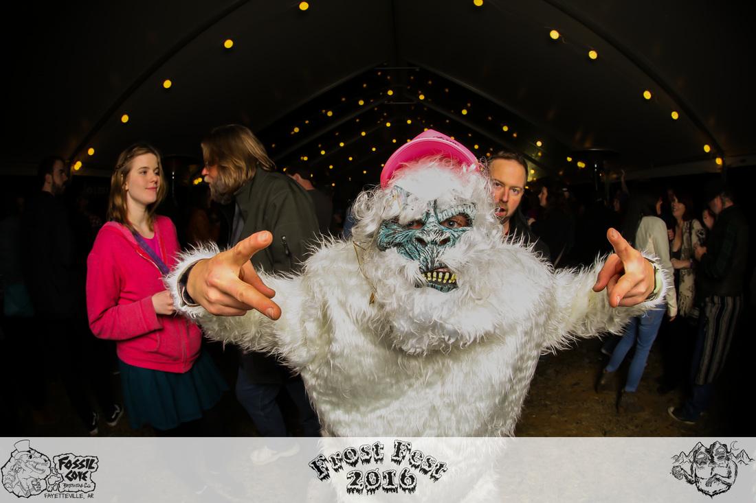 Frost Fest Yeti