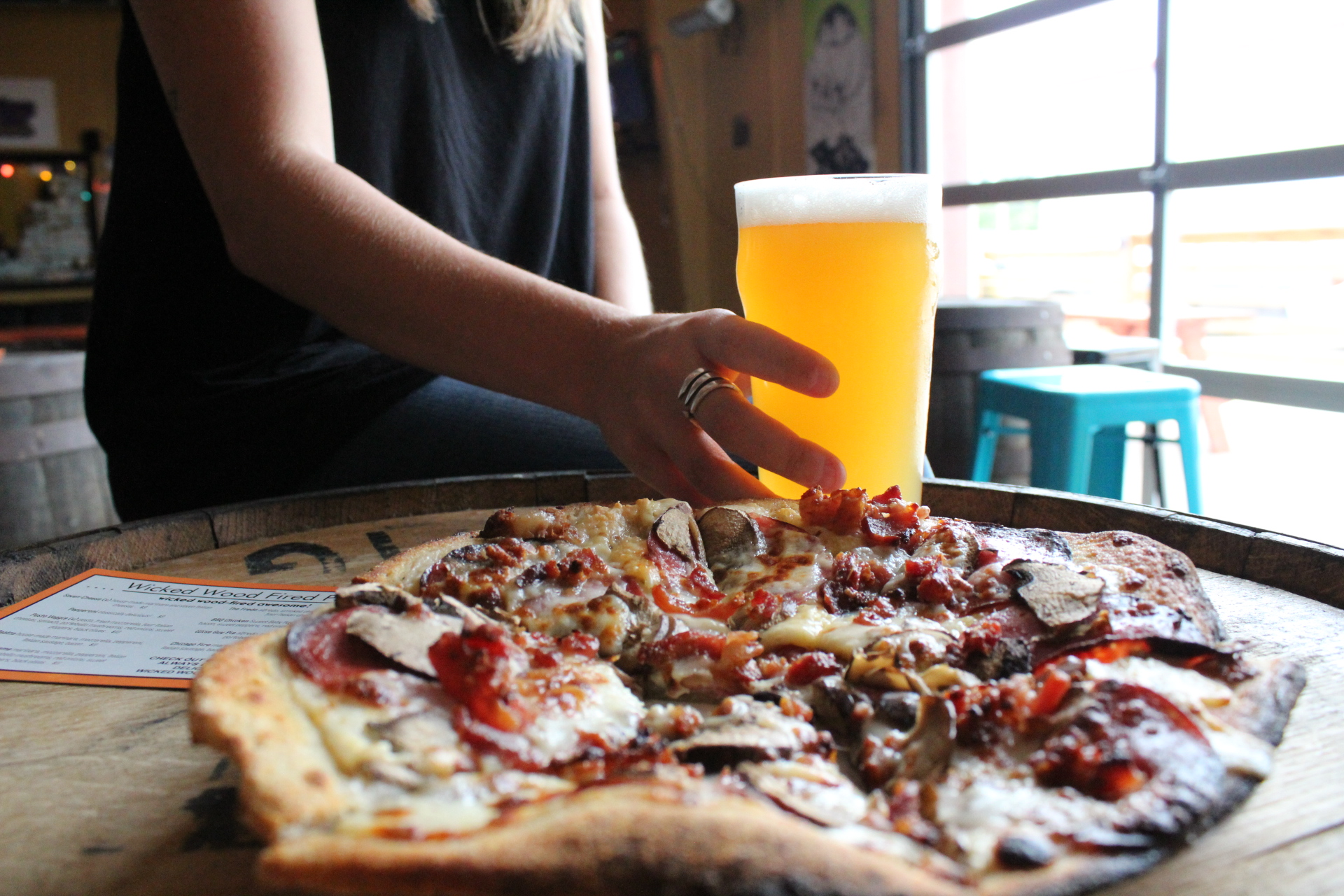 Craft Beer and Wood Fired Pizza
