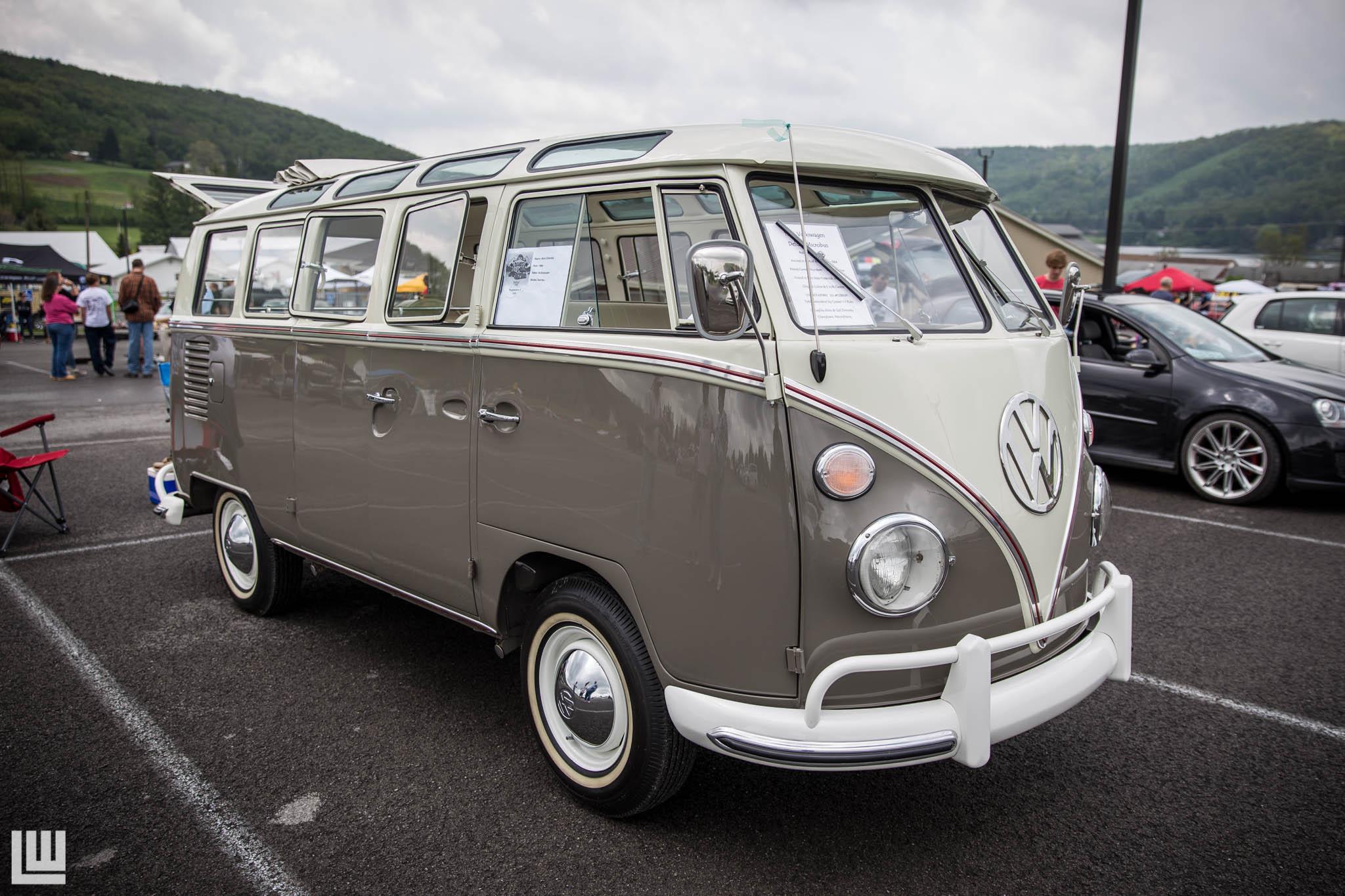 Best of Show - Alvin and Gail Ziminsky- 1964 21 Window Volkswagen Type 2 Bus