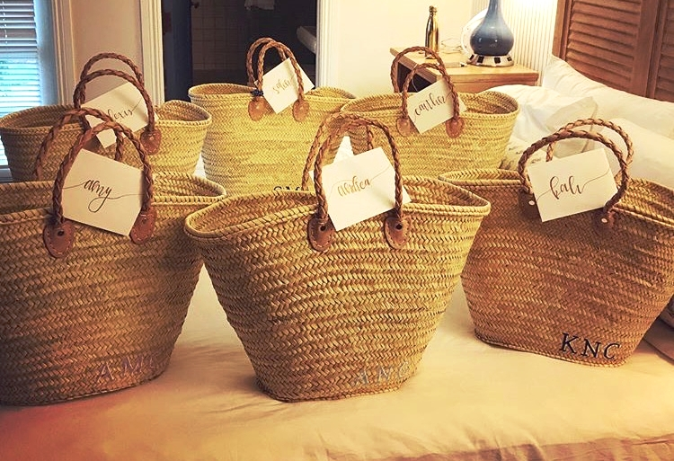 Got everyone these cute beach bags from Mariella Vilar! Linked below. So obsessed with them.