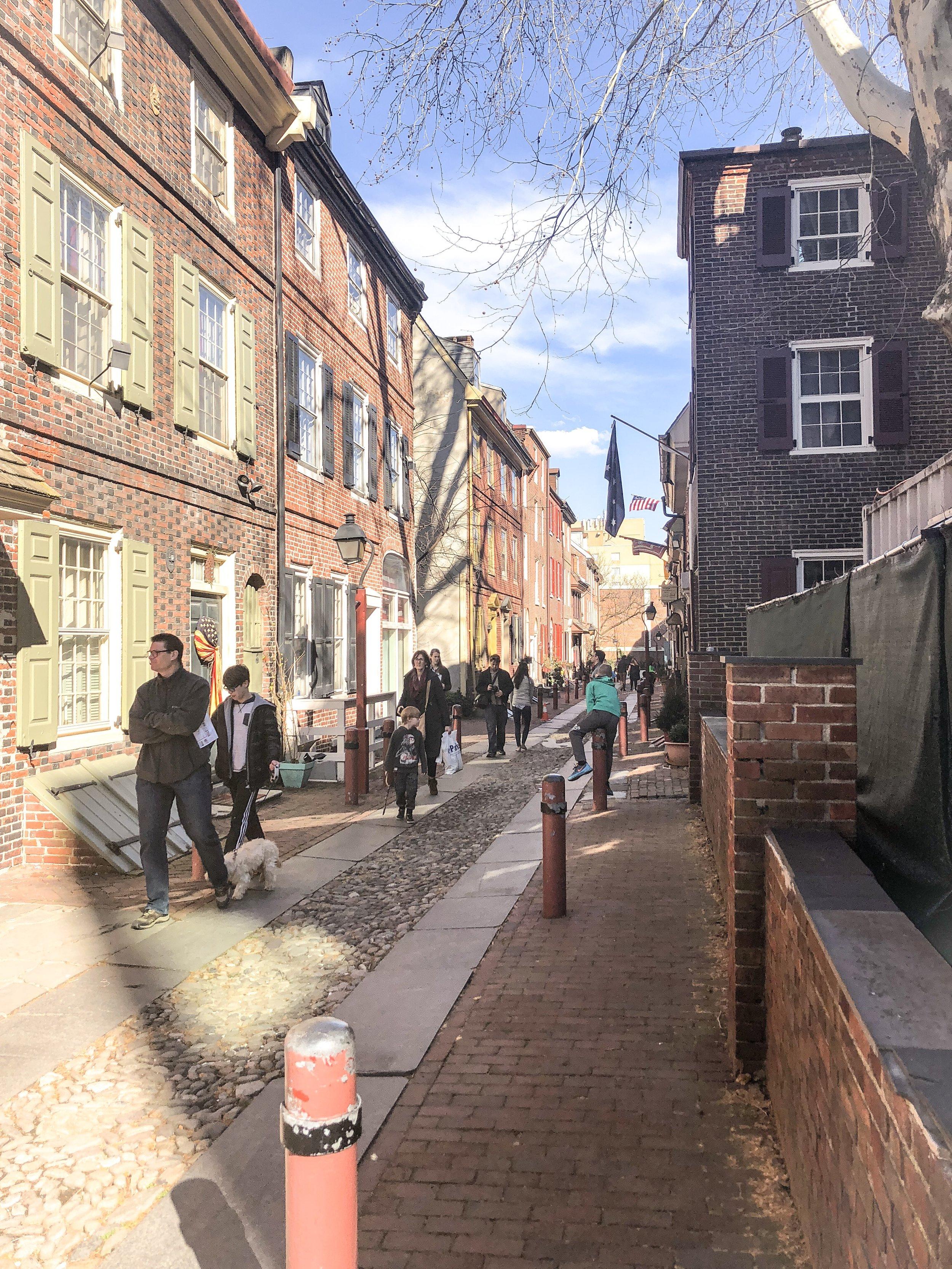 Adorable Elfreth's Alley