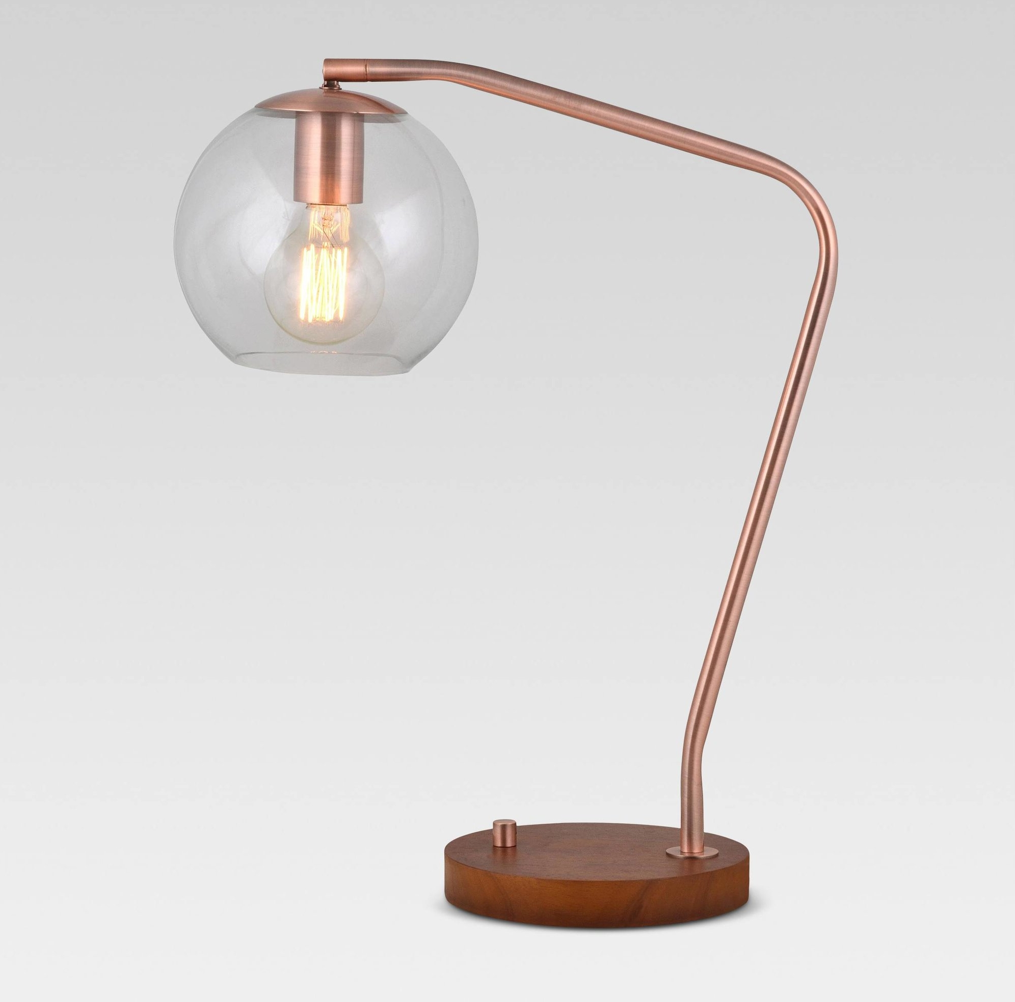 Rose Gold Globe Lamp - Here is another fun table lamp that could double as a desk lamp. I love how different the structure is, and the rose gold just speaks to my heart. You can find it HERE if you like it too!
