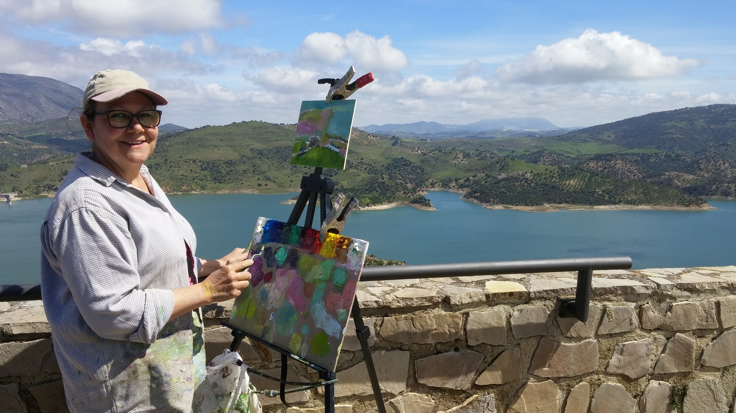Artists in Andalucia, Spain - 2018