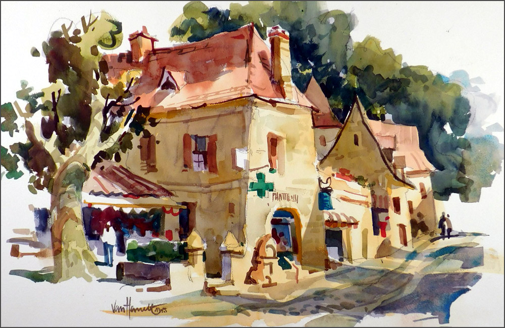 Scenes from Tony's previous visits to the Dordogne