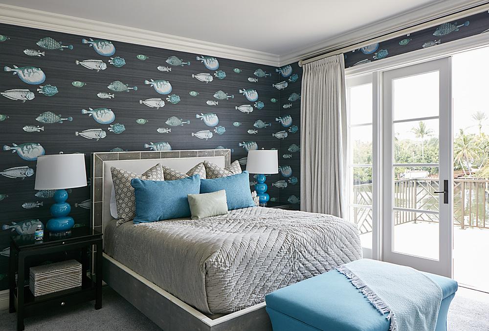 Lost Tree Fish Wallpaper Florida Stephanie Rae Interiors Design