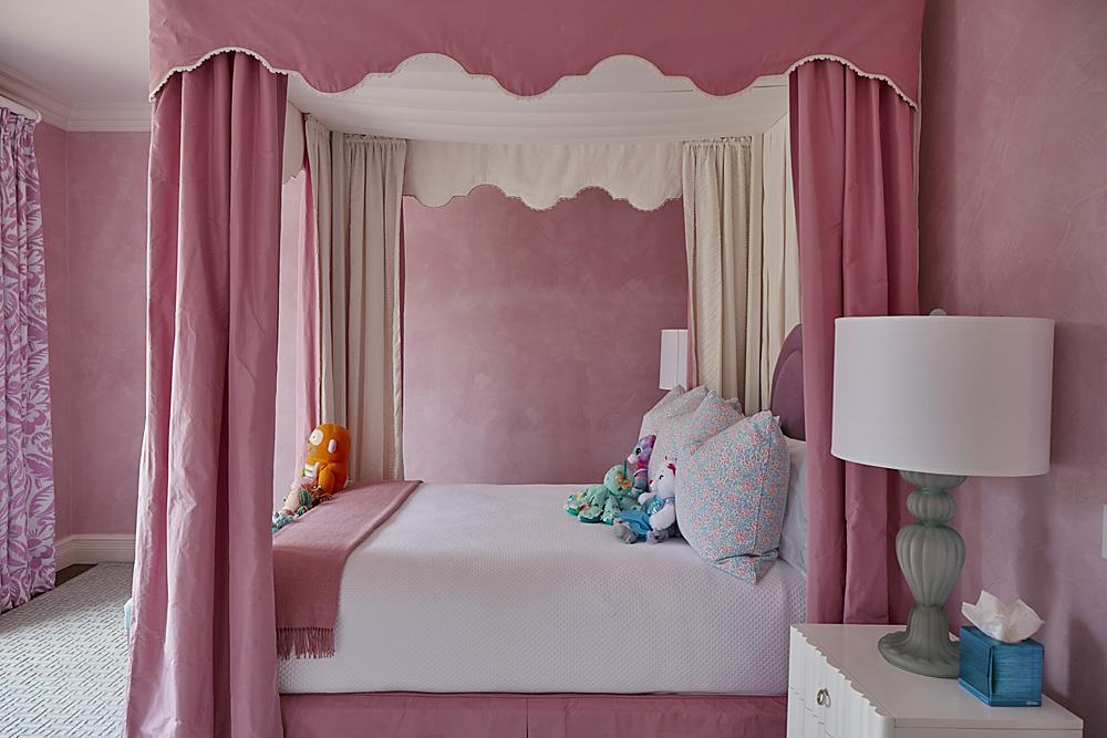 Lost Tree Pink Bed Room Florida Stephanie Rae Interiors Design