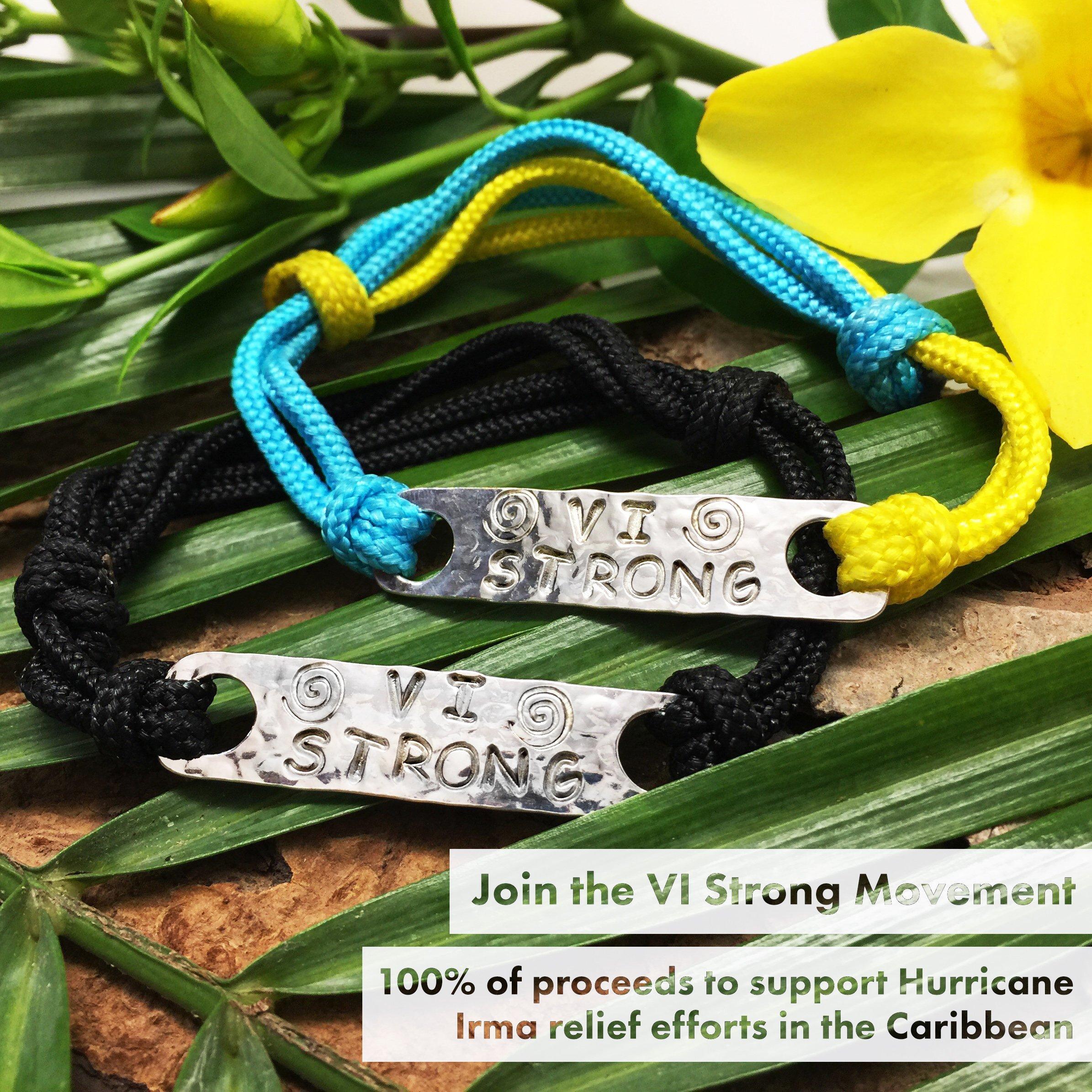 Crucian Gold's VI Strong cord bracelets