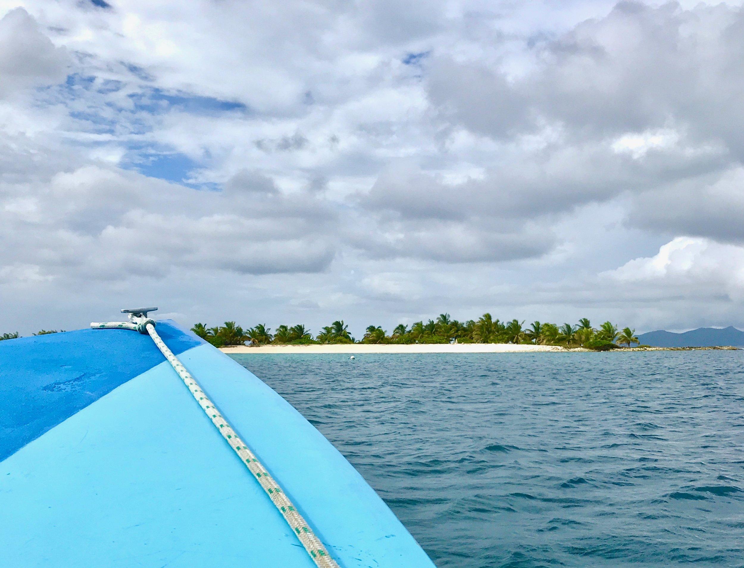 Paradise on the horizon