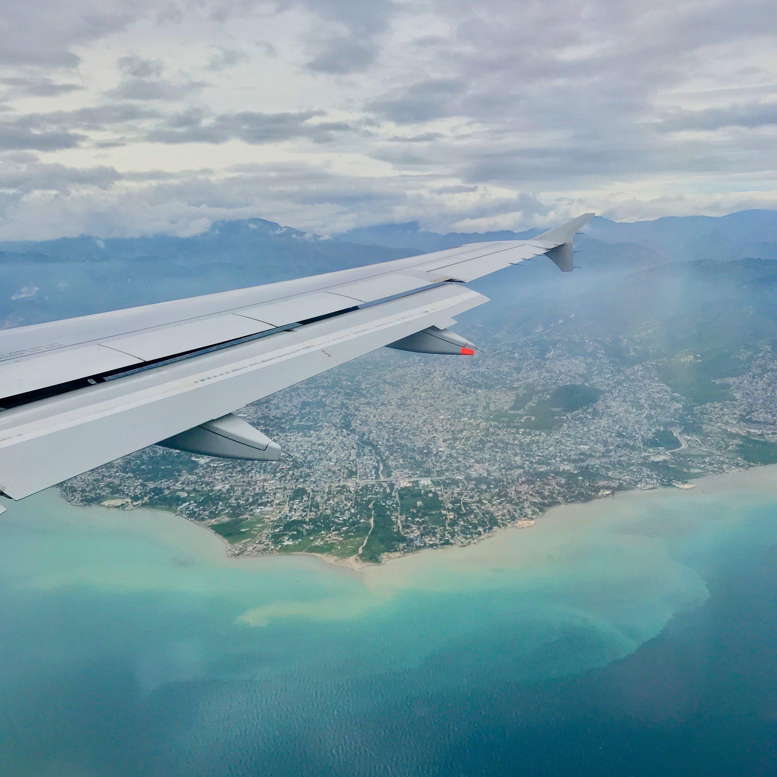 Haiti on the horizon