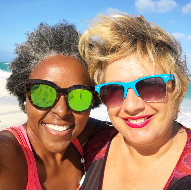 with True Anguilla's Trudy Nixon