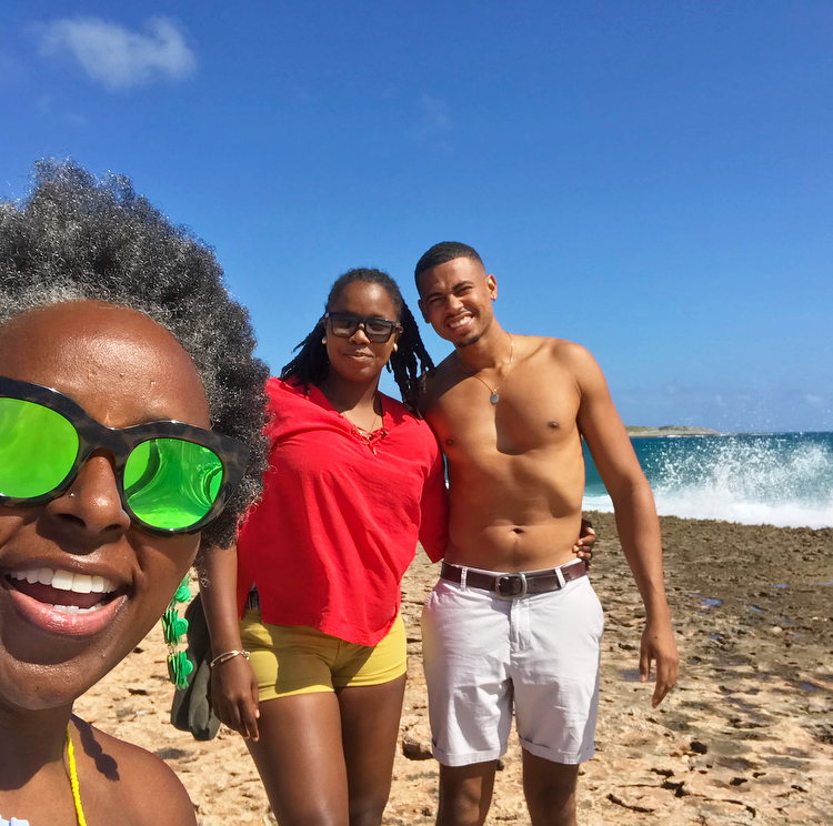 With my expert guides Tahirah and Gino of  Sunkiss Adventure Living
