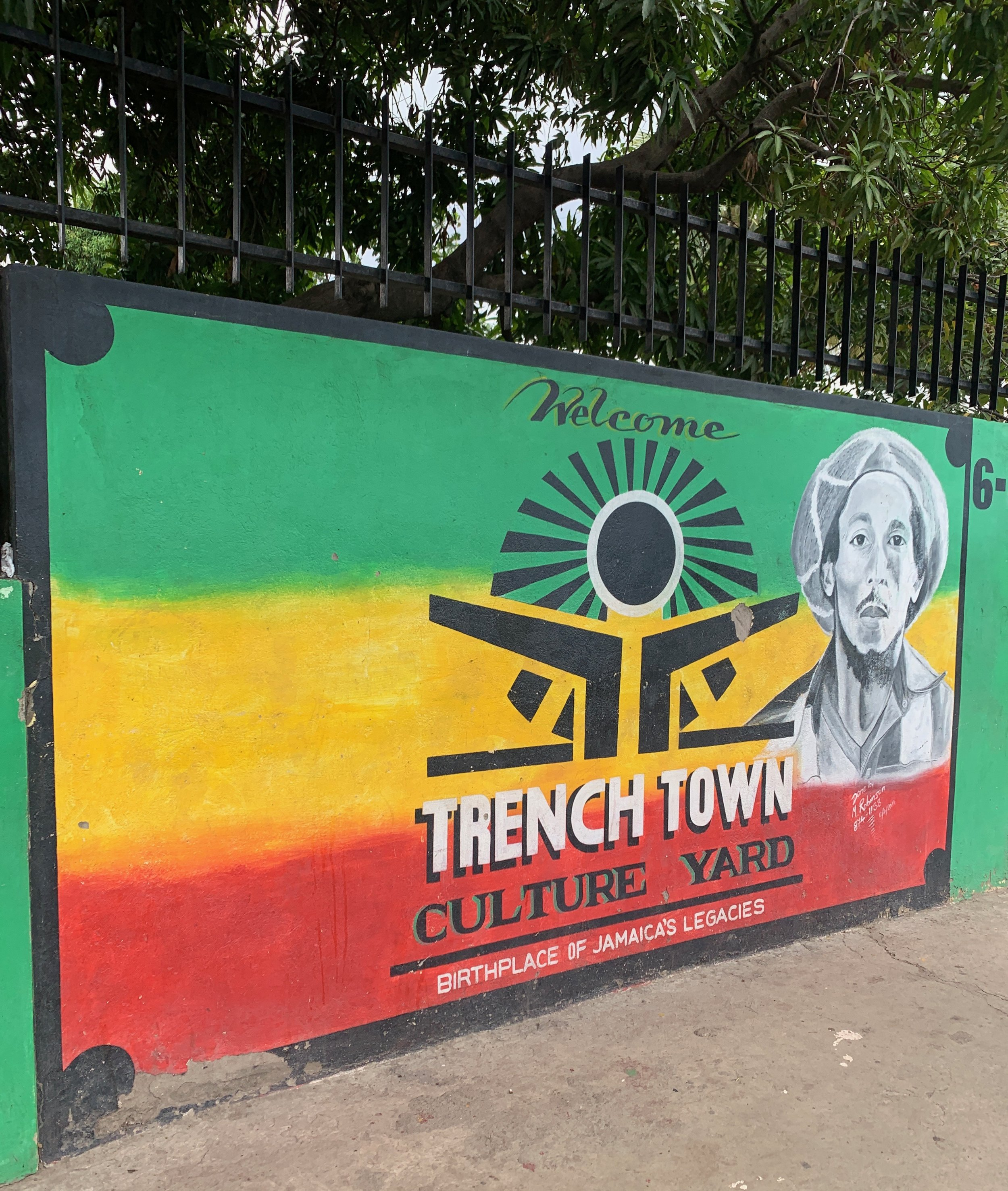 This was also my first visit to Trench Town, a gritty inner-city 'hood where many of Jamaica's talents - Bob Marley among them - got their start