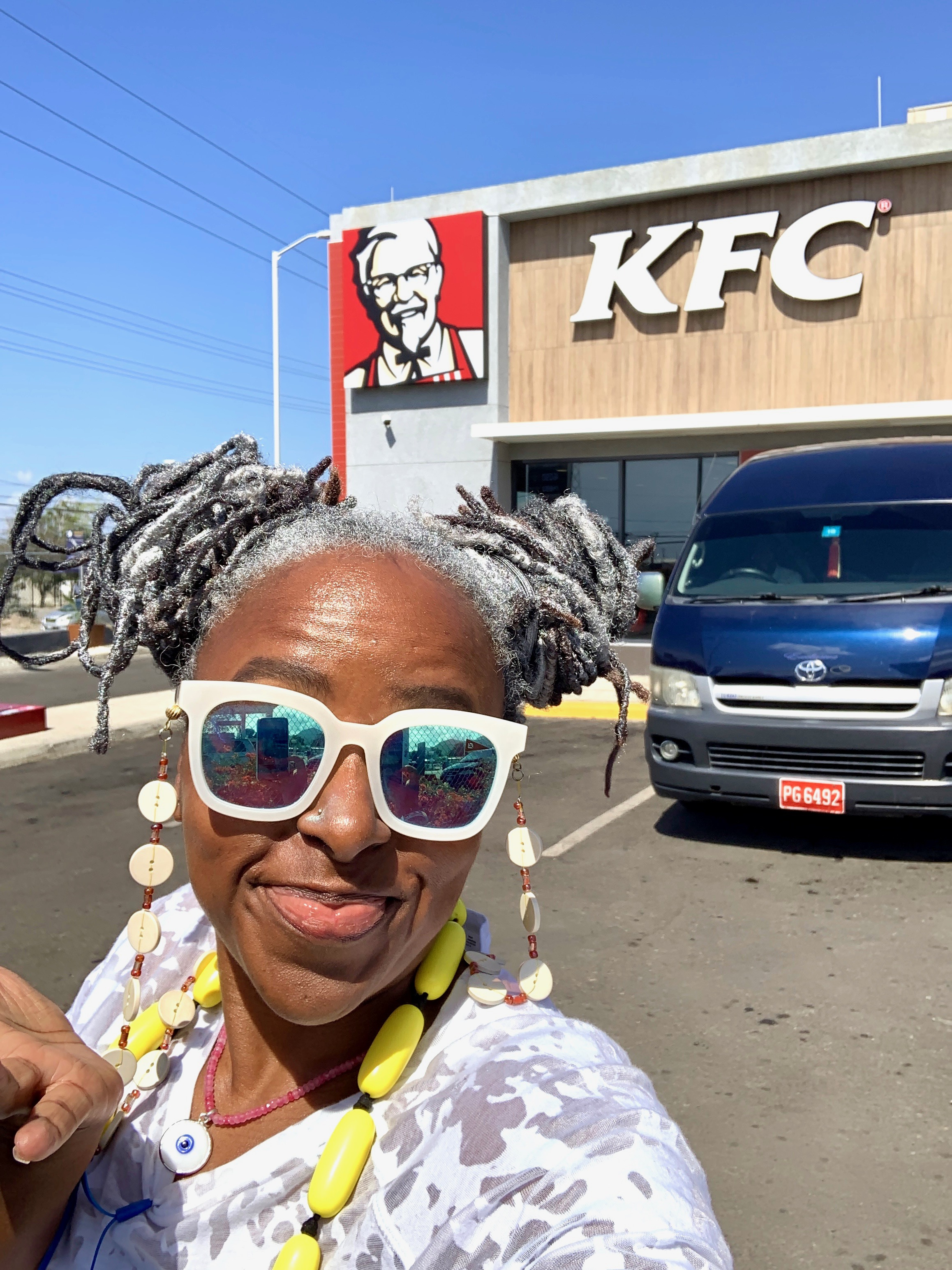 There's no way I was leaving Kingston without stopping at KFC!