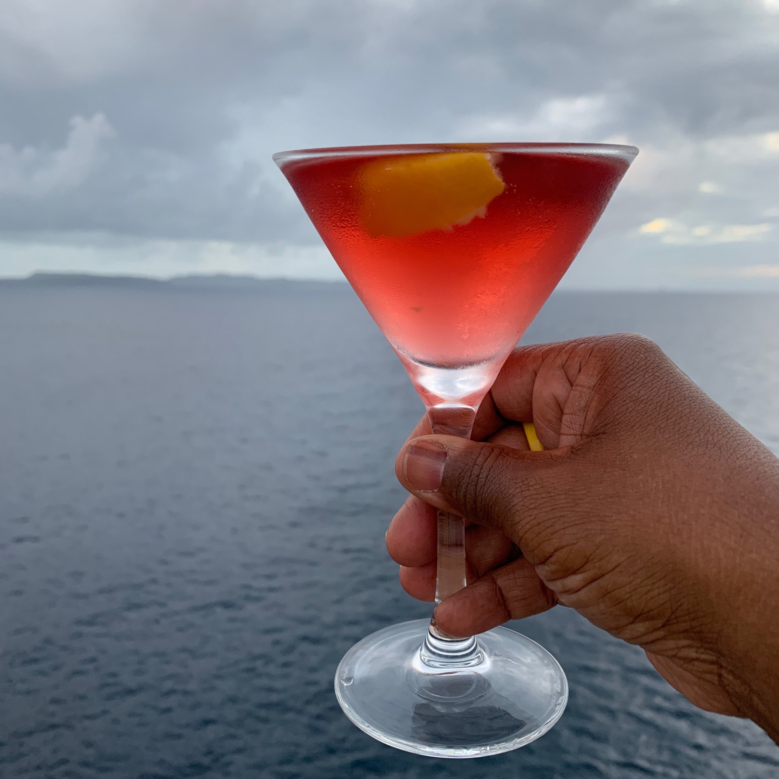 Because cocktails and cruising are a winning combination!