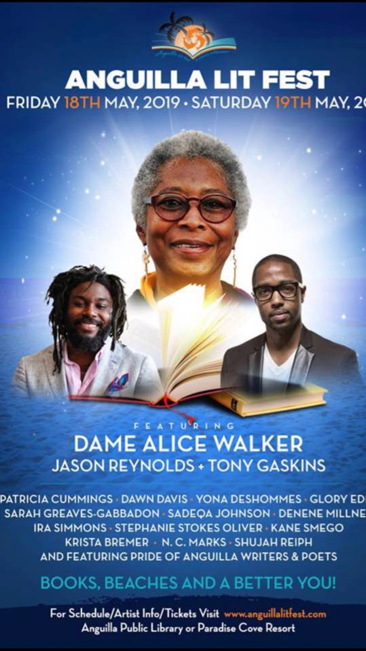 Look who's sharing billing on a poster with Alice Walker!