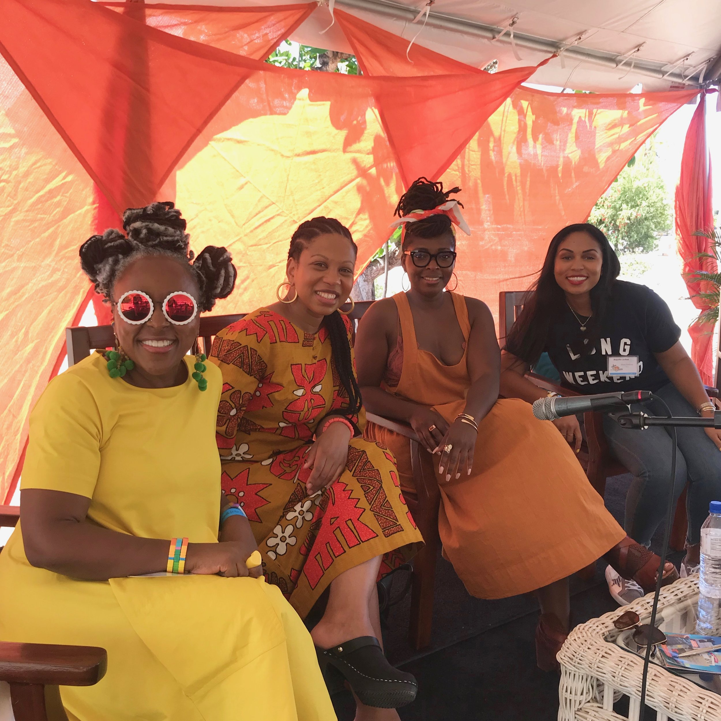 Bloggers, Book Clubs and Branding panelists (L-R) Glory Edim, Denene Millner and Sheri Gaskins