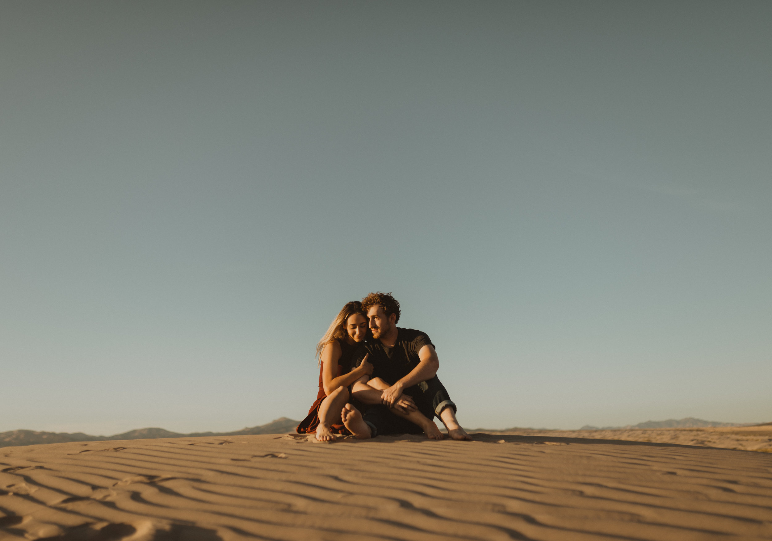 Taylor+Ruger at the Sand Dunes -