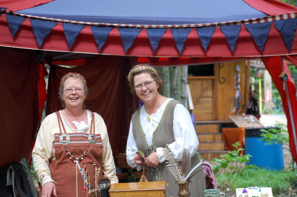 Artisans at the Door County Renaissance Faire
