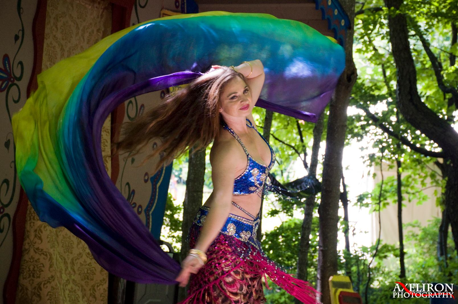 Dancing at the Door County Renaissance Faire
