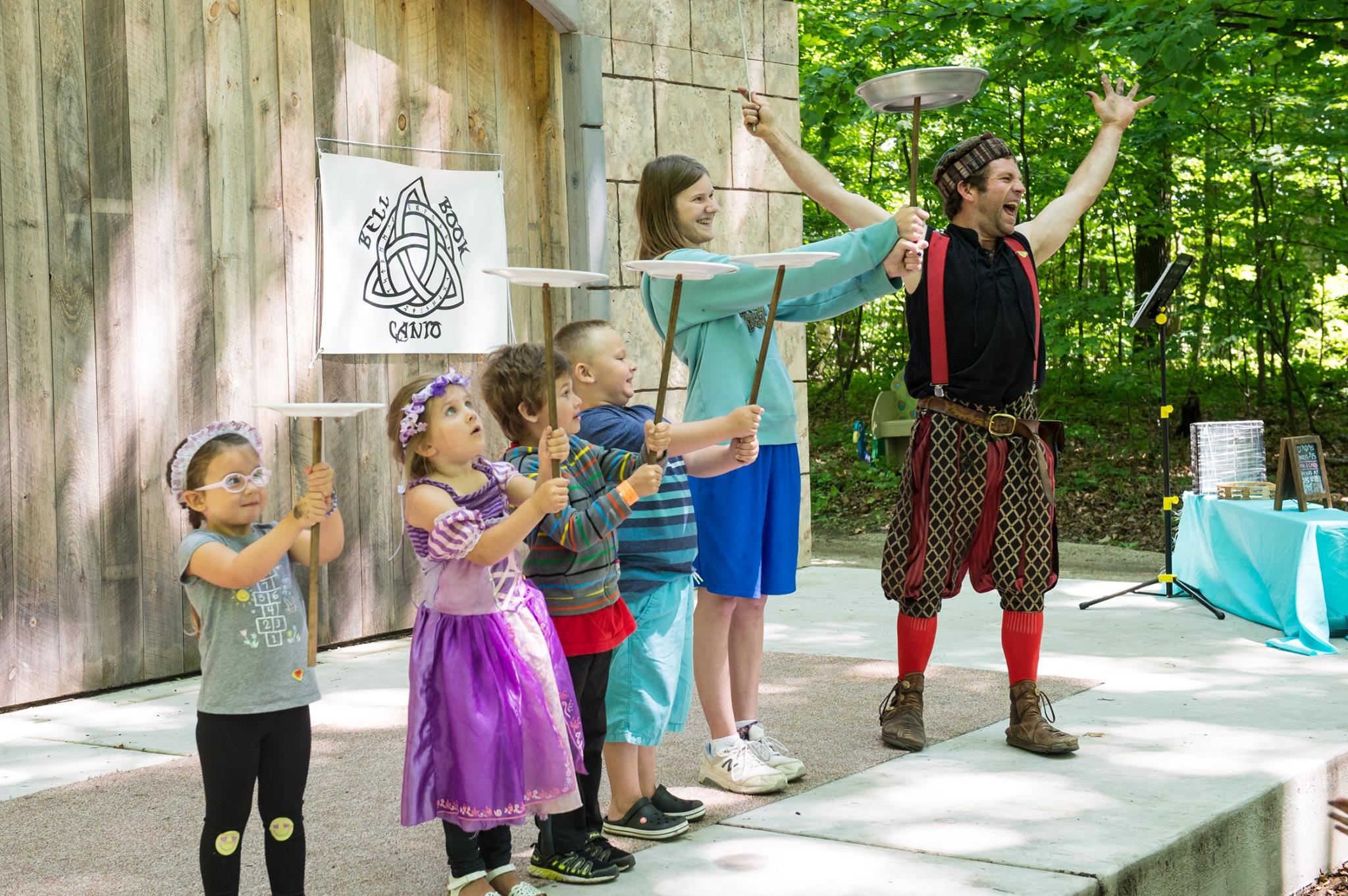 Fun for kids at the Door County Renaissance Faire