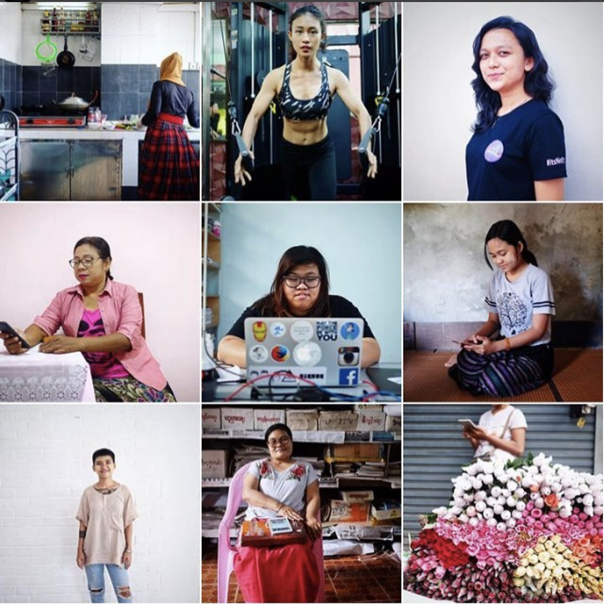In Myanmar, Facebook has provided women new opportunities for business, activism and organizing, while also being a hotbed of harassment.  I contributed 11 portraits to The Lily that show women in Myanmar who see the good, and the bad, that Facebook has to offer.   You can see the entire story here: https://www.thelily.com/officials-blame-facebook-for-fueling-ethnic-tension-in-myanmar-for-these-women-its-more-complicated/