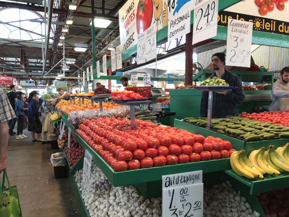 A feast for the eyes - at one of Montreal's public markets