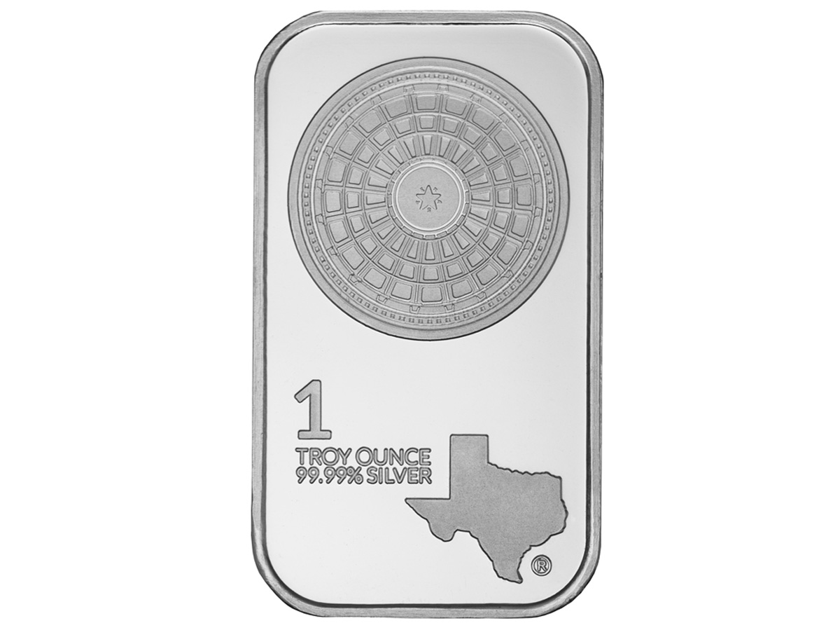 1 oz Silver Bar - Front