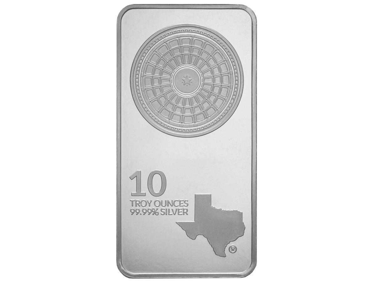 10 oz Silver Bar - Front