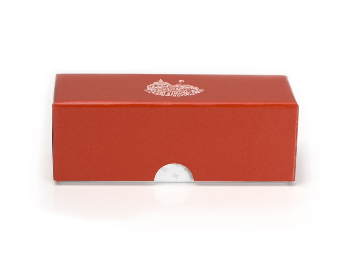 Gold Coin Box - Front