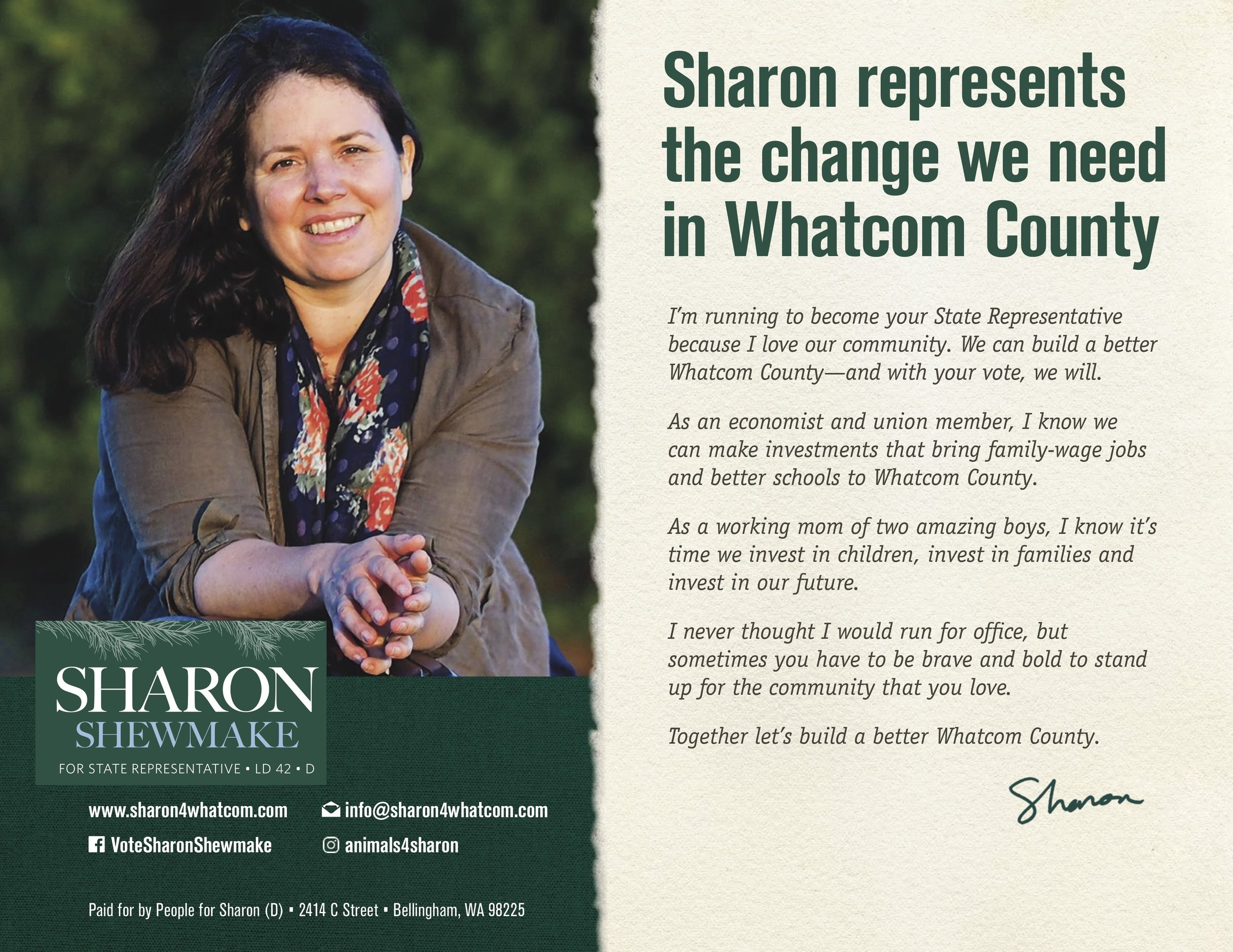 Introductory Political Mailer Side 1