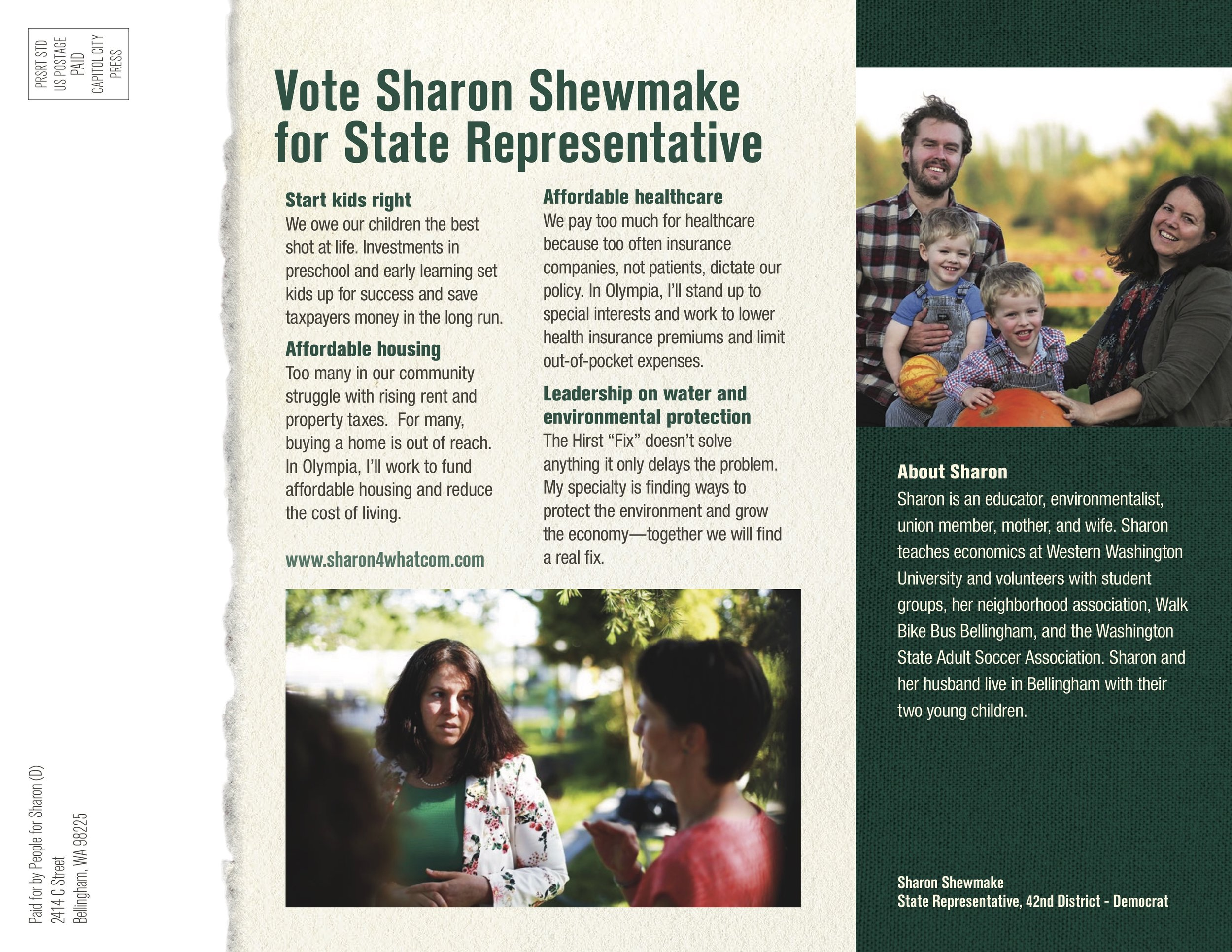 Introductory Political Mailer Side 2