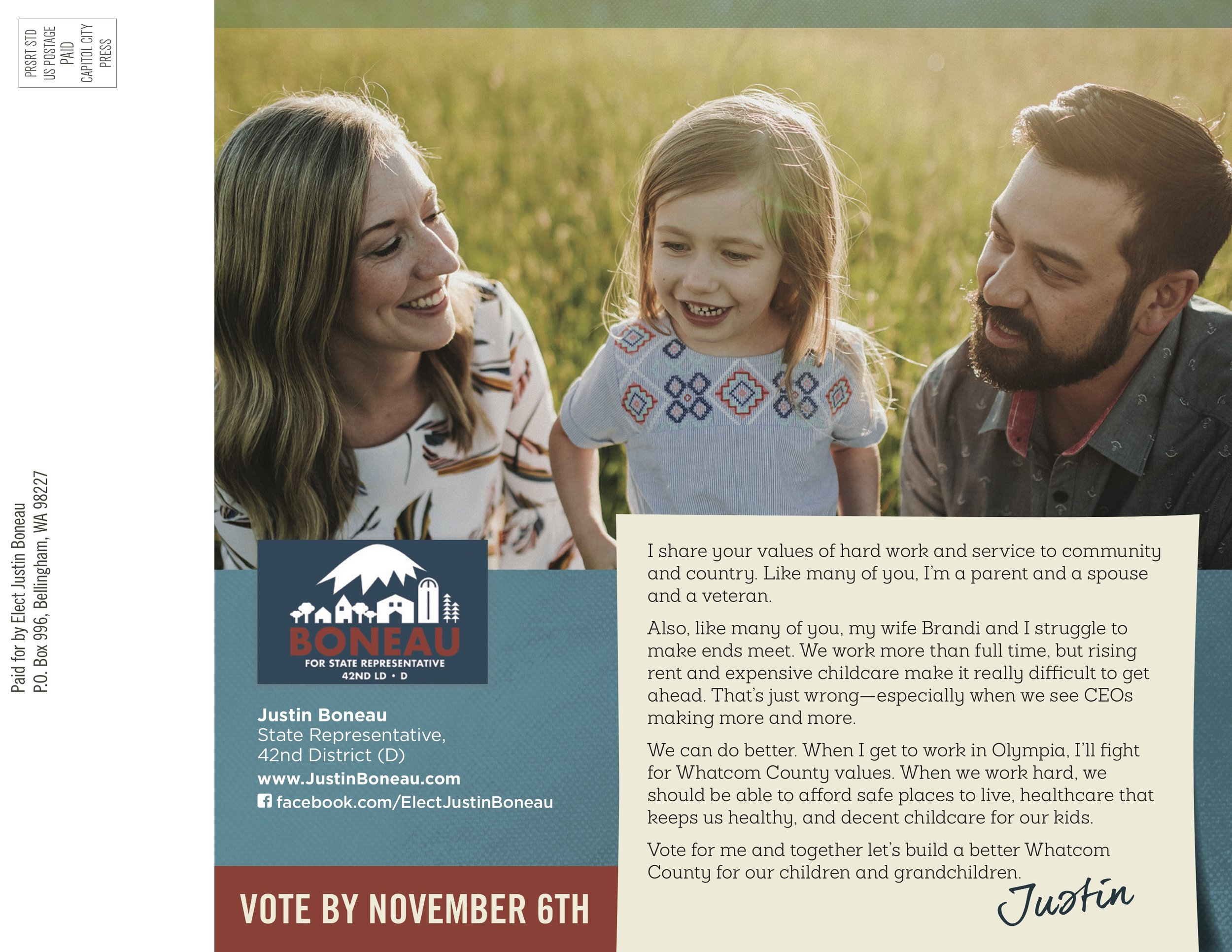 Closing Political Mailer Side 2