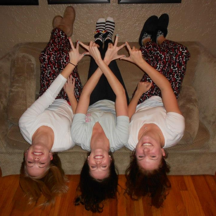 Hot tip: If you let yourself just chill out, you'll have about 9,000 pictures of you upside down on a couch to pick from. You will appreciate this later.