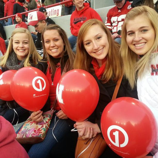 These women turned me into the Husker-football-loving freak I am now.