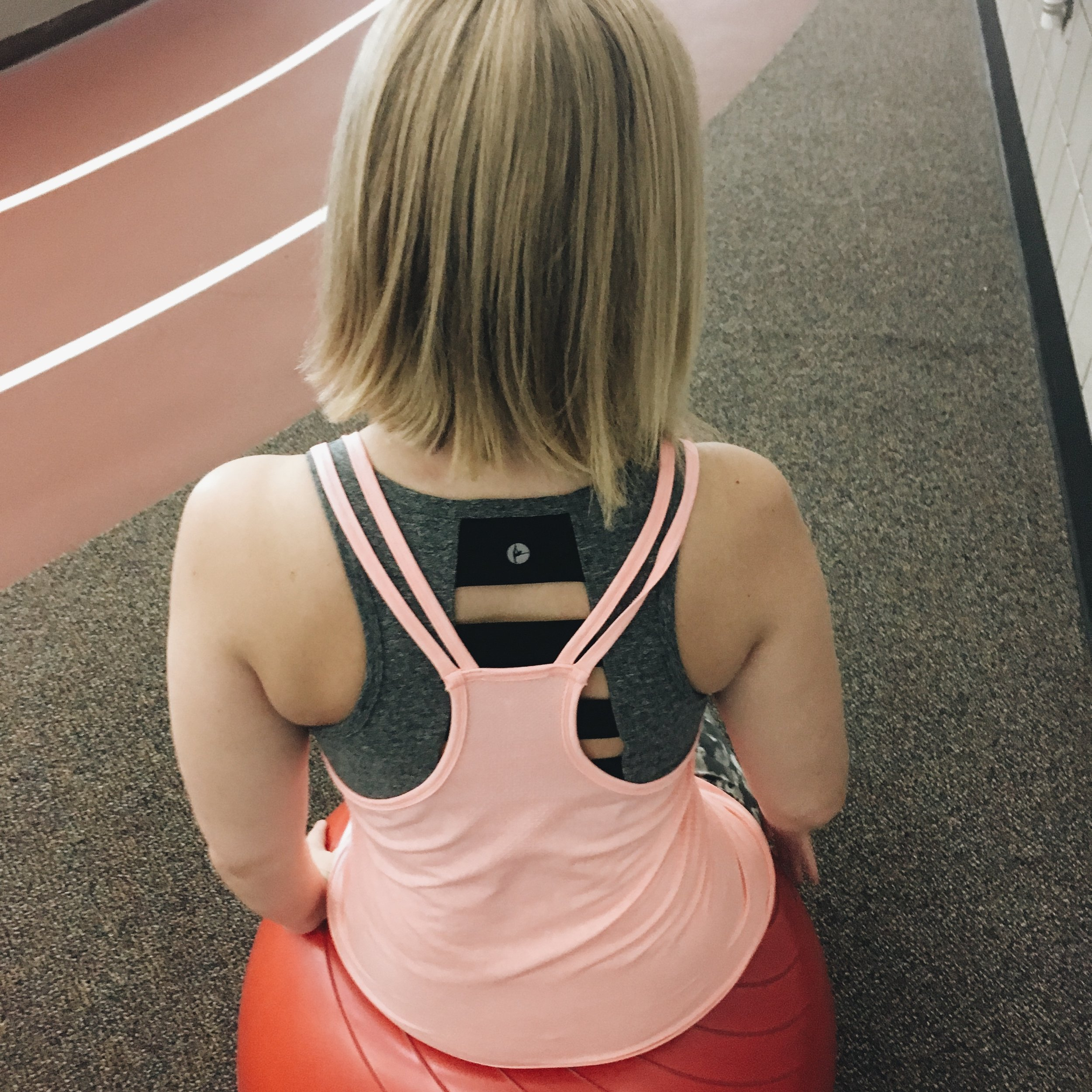 Fun stuff means the gym is less horrific. Like cool sports bras.