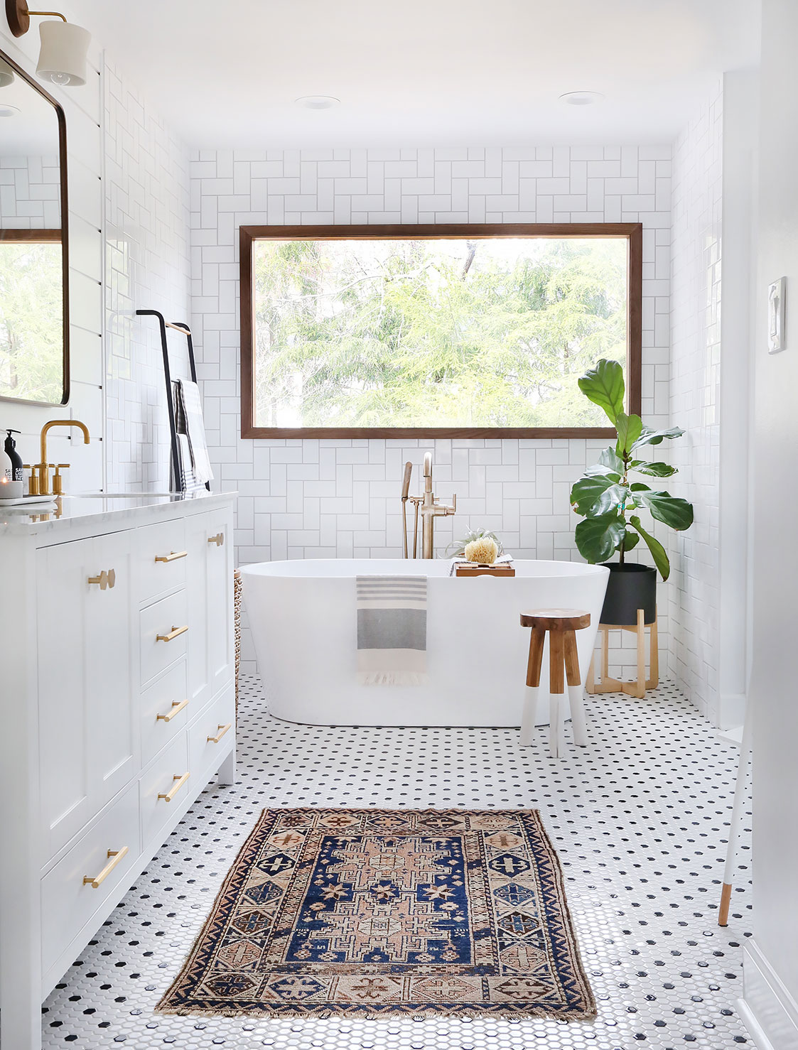 My Master Bathroom Reveal Sunny Circle Studio