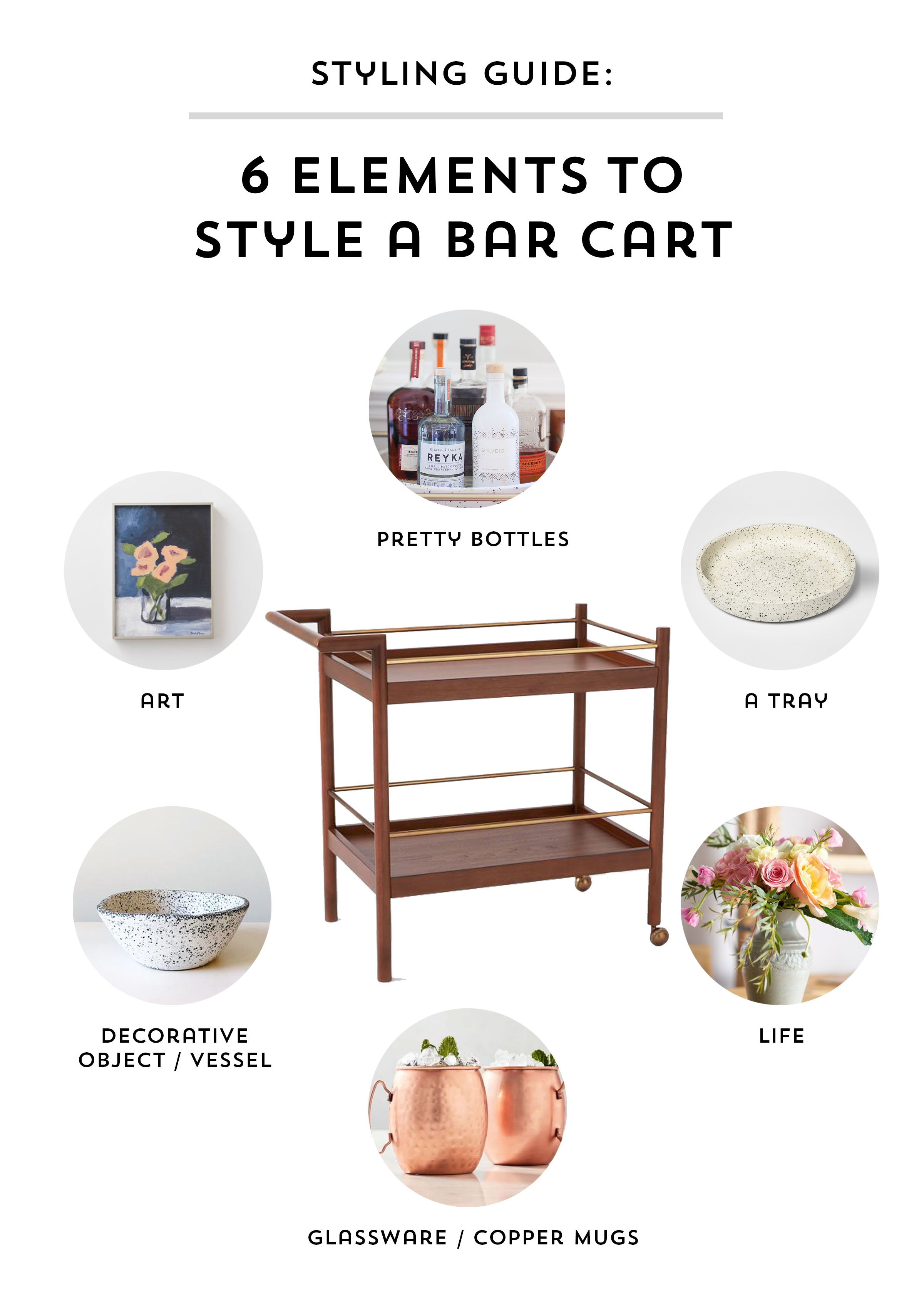 Styling Guide The Bar Cart Sunny Circle Studio